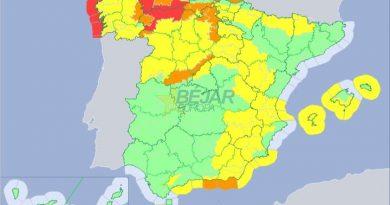 Protección Civil declara la alerta por fenómenos meteorológicos adversos en toda la Comunidad