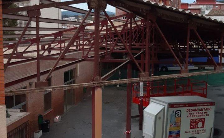 Se inician las obras de remodelación en la estación de autobuses