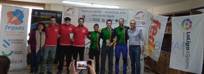 El equipo bejarano los Vettones subcampeón de la liga española de raid de aventura