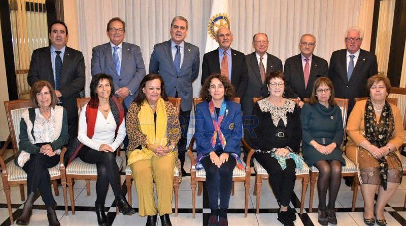 Visita Béjar la gobernadora de Rotary International