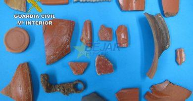La Guardia Civil investiga a una persona por daños en un yacimiento arqueológico
