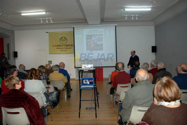 Conferencia de Javier RSánchez El patrimonio industrial de Béjar