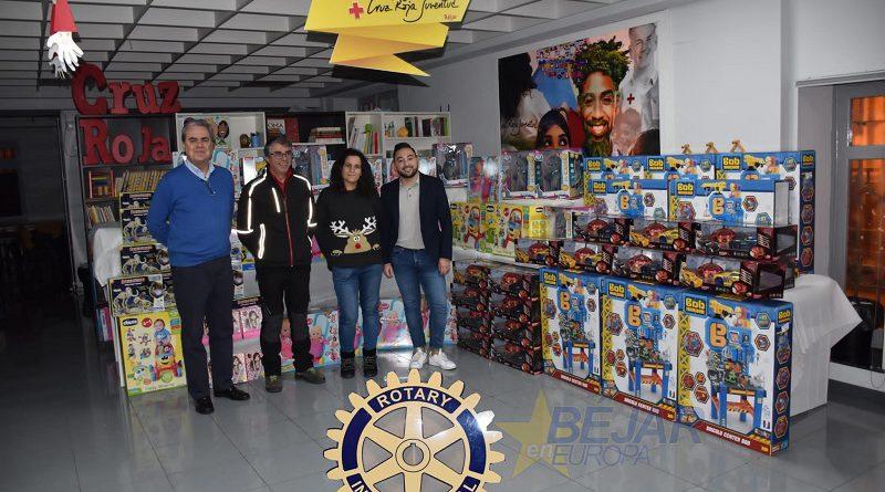 Entrega de juguetes festival de Navidad Rotary Club de Béjar