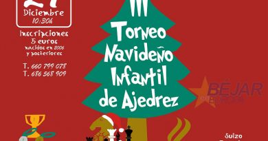 III Torneo navideño infantil de ajedrez El Murallón