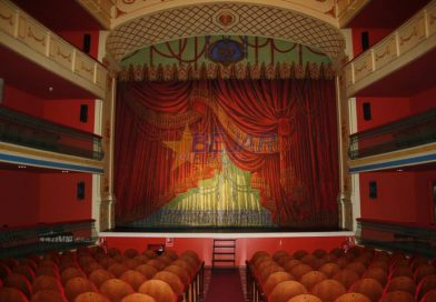 Teatro Cervantes de Béjar: Más de 18 años abierto al público sin licencia