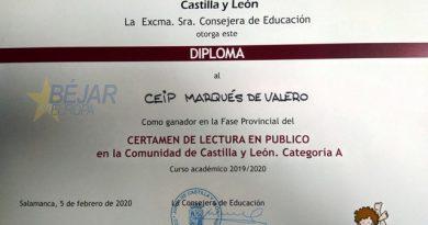 El CEIP Marqués de Valero, ganador de la fase provincial del Certamen de Lectura en público
