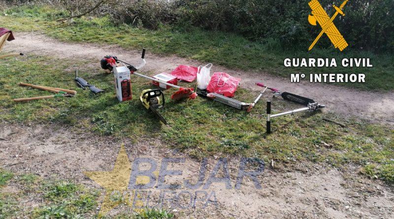 La Guardia Civil detiene a un varón e investiga a un segundo, como supuestos autores de un delito de robo con fuerza en cabrerizos
