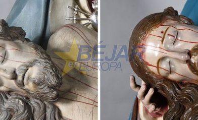 Concluye la restauración de la imagen de Nuestra Señora de Las Angustias