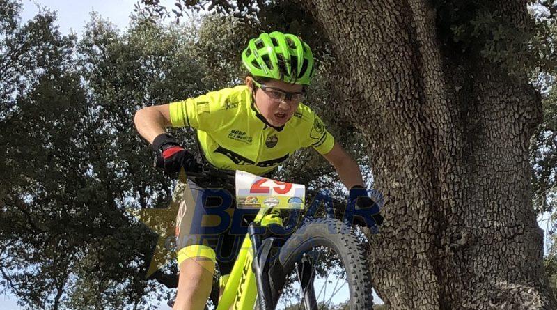 La Escuela de Ciclismo Bejarana de desplaza a Crespos en la II prueba de la Copa CyL BTT