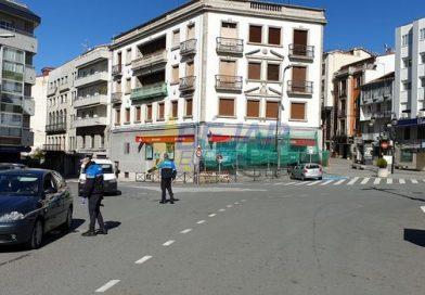 La Policía Local multa a una persona por pasear en la Vía Verde