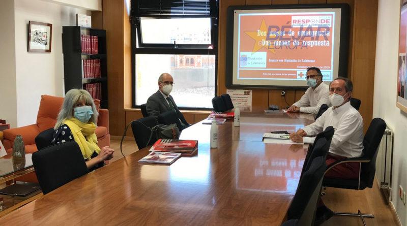 colaboración entre Diputación y Cruz Roja