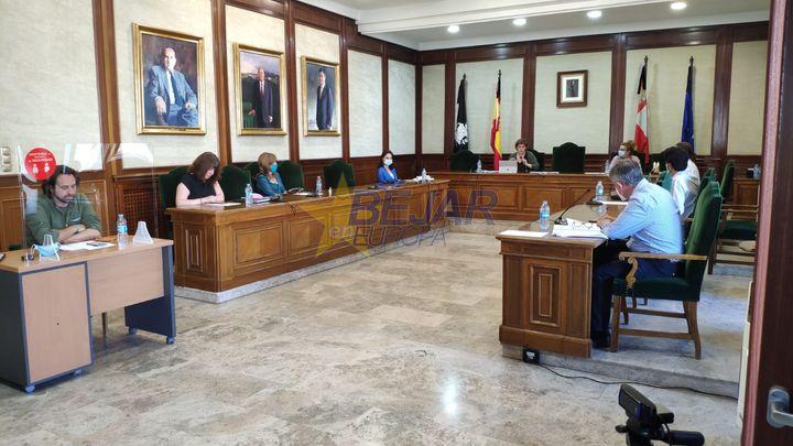 VÍDEO | Béjar aprueba por unanimidad la modificación de la Ordenanza sobre la Instalación de Terrazas y Veladores