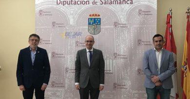 El presidente de la Diputación y el presidente del Colegio de Graduados Sociales firman un protocolo de colaboración
