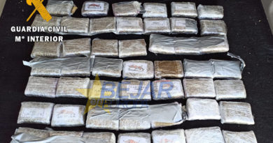 La guardia civil de salamanca detiene al autor de un delito de tráfico de drogas