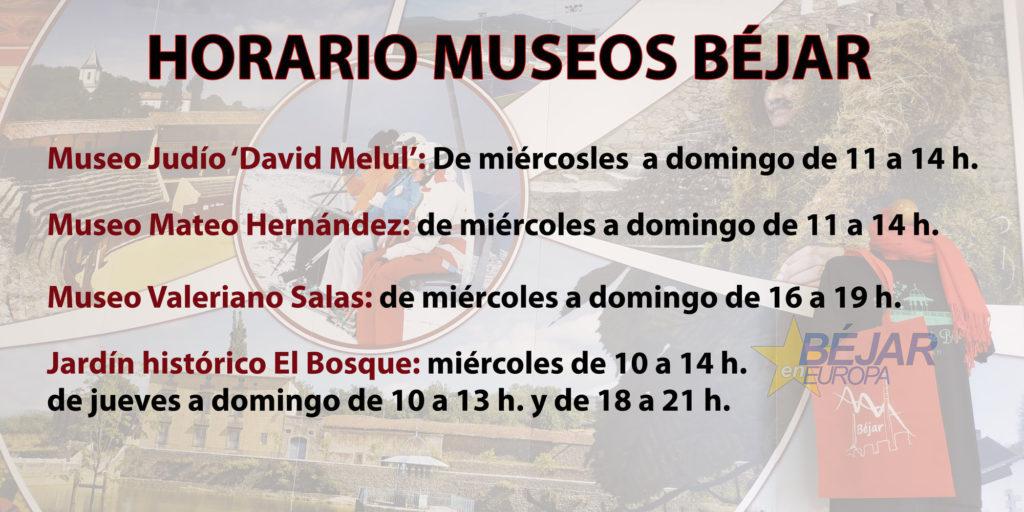 Horario Museos