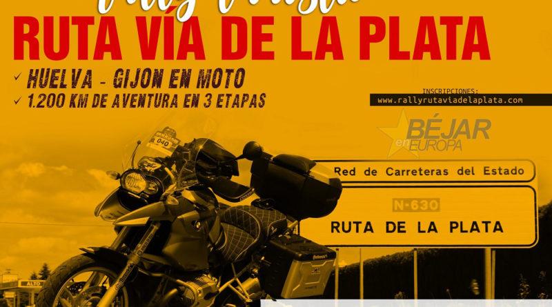 El Rally Turístico en Moto Ruta Vía de la Plata parará en Béjar