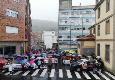 Tercera concentración en defensa de los servicios hospitalarios en Béjar