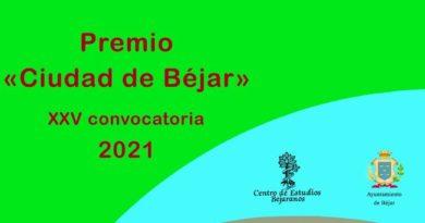 El CEB convoca el XXV Premio Ciudad de Béjar