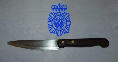 Salamanca | Detenido en un domicilio un varón por amenazas con arma blanca y lesiones