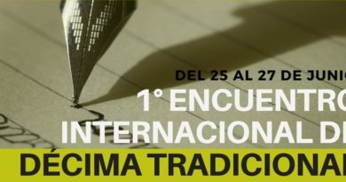 El bejarano Iván Parro participará en el Encuentro Internacional de Décima Tradicional