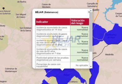 La Junta declara oficialmente la «Nueva Normalidad» en Béjar