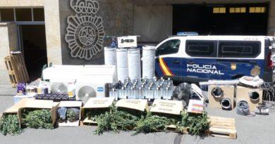 Salamanca | Tres detenidos por tráfico de drogas y defraudación de fluido eléctrico